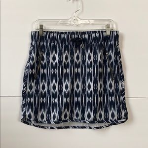 Athleta Skort  Small.  Blue/white Super cute